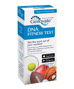 Front of DNA Fitness Test box