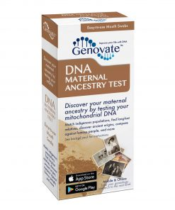 Front of DNA Maternal Ancestry Test box
