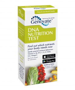 Front of DNA Nutrition Test box