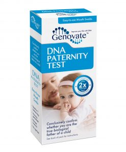 Front of DNA Paternity Test box
